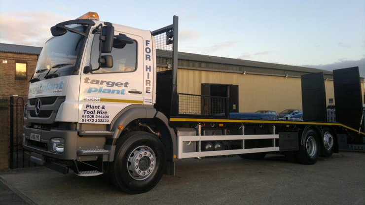 Plant movement trucks available for hire