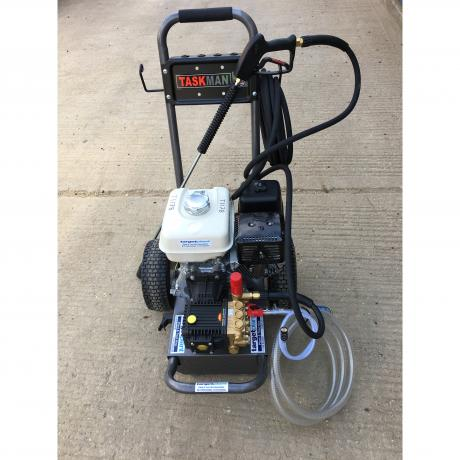 New petrol pressure washers for the fleet