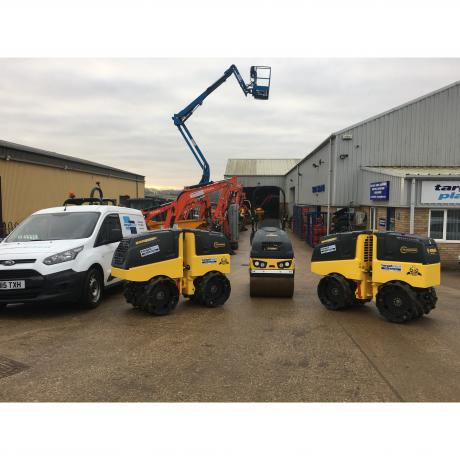 New Bomag rollers
